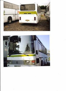 Side Tail lift 33 Seat Coach. PERCHASED 2008