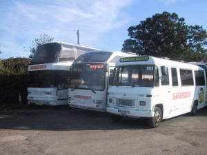 Our fleet line up in 2002, how a lot has changed since then