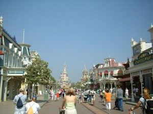 Disney Land Paris has always been a popular distination for us. Here is photo from Stephen Barker collection of Main Street