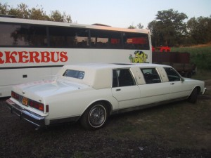 1 of 2 limo's we had on fleet in 2005, now none on fleet
