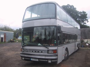 One of the Setra Deckers we have had on fleet over the years. We now don't have these on fleet and have moved onto Neoplans